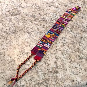 Tribal Tie-On Belt